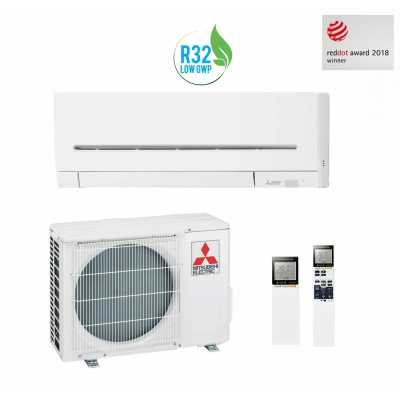 Montaj Aer conditionat Mitsubishi Electric Inverter MSZ-AP35VG+MUZ-AP35VG 12000 BTU R32